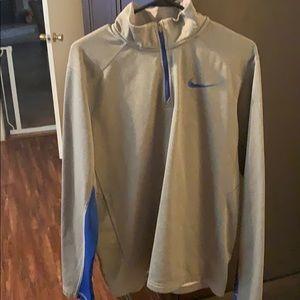 Men's Nike half zip